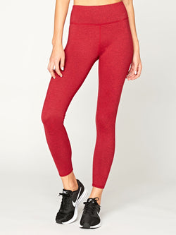 Betty High Rise Legging Womens Bottoms Pants Threads 4 Thought XS Ruby Red
