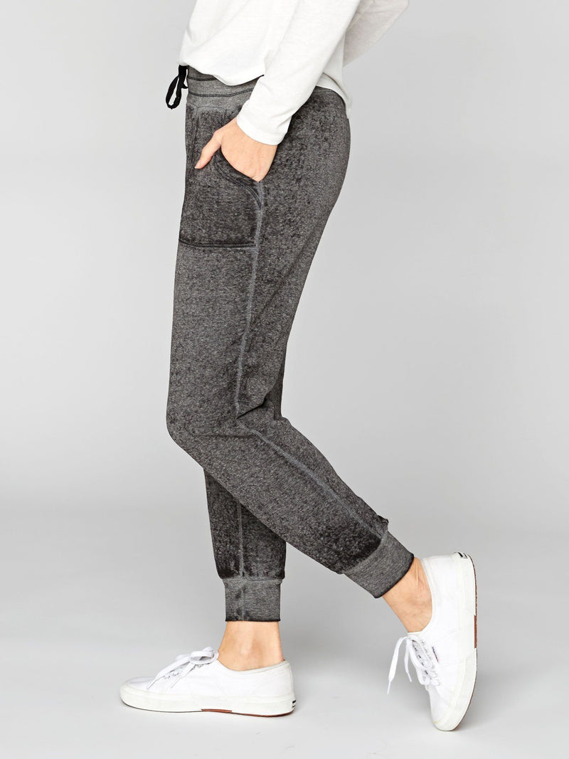 Phoebe Burnout Wash Sweatpant Womens Bottoms Pants Threads 4 Thought