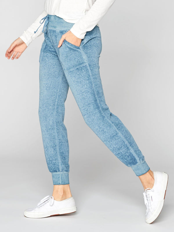 Phoebe Burnout Wash Sweatpant