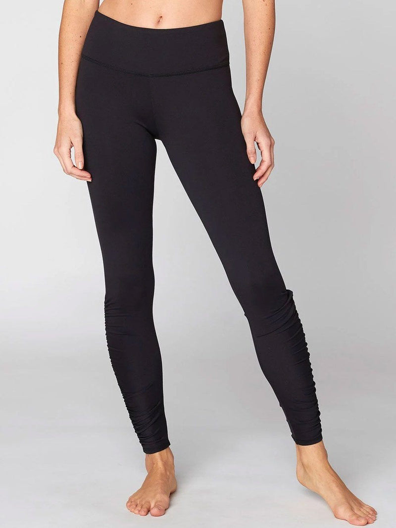 Monica Rouched Legging Womens Bottoms Pants Threads 4 Thought