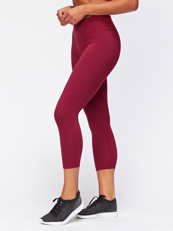 Monica Crop Legging Womens Bottoms Leggings Threads 4 Thought