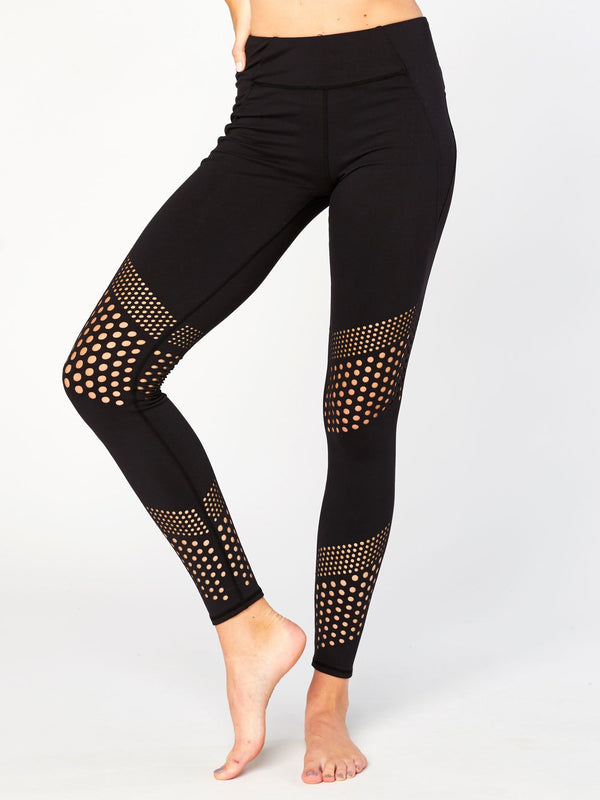 Mazie Perforated Legging