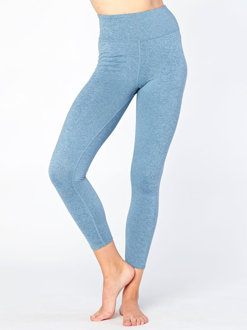 Claire High Rise 7/8 Legging Womens Bottoms Leggings Threads 4 Thought XS Heather Edgewater