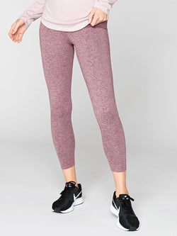 Claire High Rise 7/8 Legging Womens Bottoms Leggings Threads 4 Thought XS Heather Fig