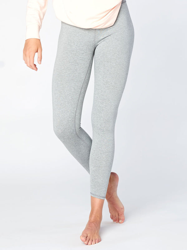 Claire High Rise 7/8 Legging Womens Bottoms Leggings Threads 4 Thought XS Heather Grey
