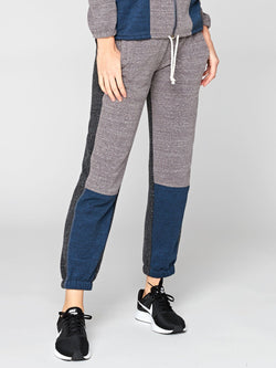Louisa Colorblock Sweatpant Womens Bottoms Pants Threads 4 Thought XS Midnight