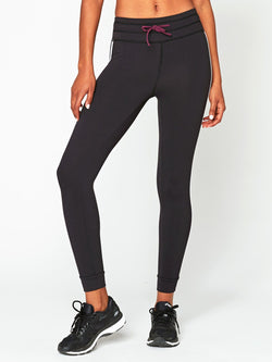 Invigorate Jogger Legging Womens Bottoms Leggings Threads 4 Thought XS Jet Black