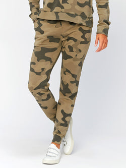 Tanory Overdye Camo Jogger Womens Bottoms Pants Threads 4 Thought XS Artichoke