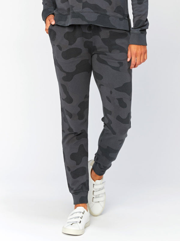 Tanory Overdye Camo Jogger Womens Bottoms Pants Threads 4 Thought XS Graphite