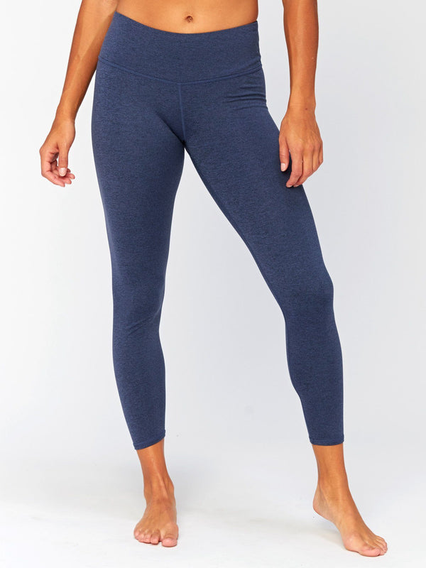 Claire Mid Rise 7/8 Legging Womens Bottoms Leggings Threads 4 Thought XS Heather Chambray