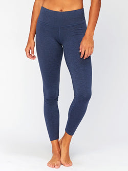 Betty Mid Rise Legging Womens Bottoms Pants Threads 4 Thought XS Heather Chambray