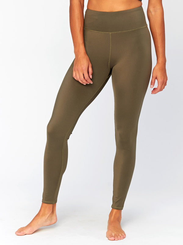 Jackie High Rise Legging Womens Bottoms Leggings Threads 4 Thought XS Ranger Green