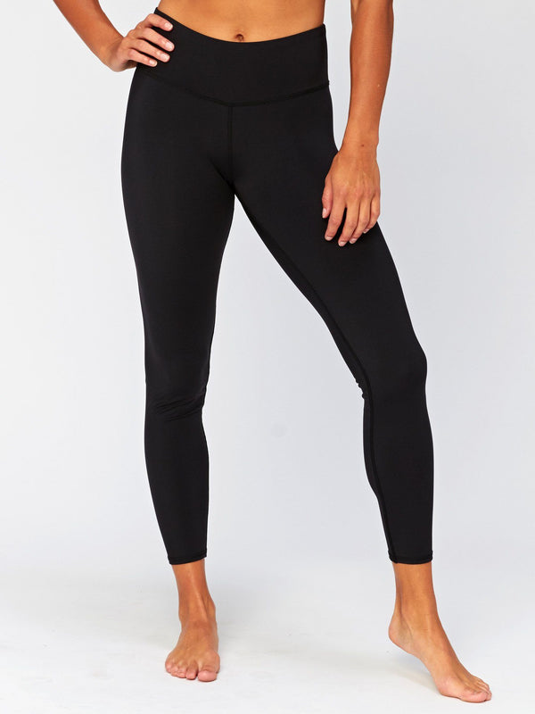 Alex Mid Rise 7/8 Legging Womens Bottoms Leggings Threads 4 Thought XS Jet Black
