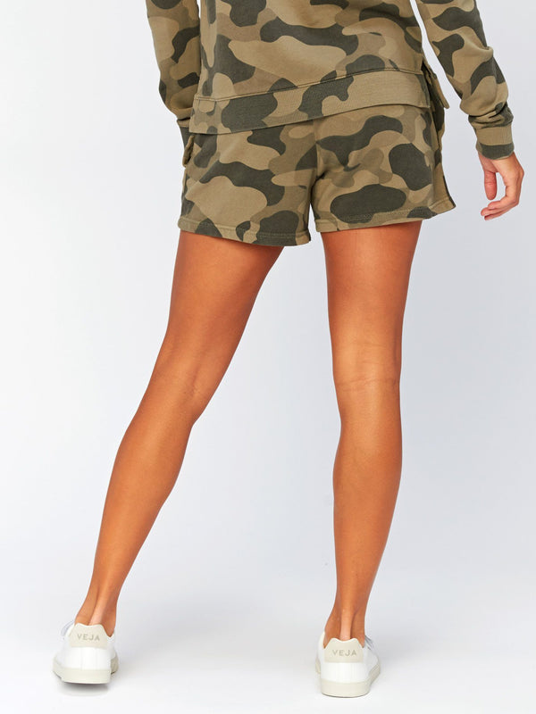 Dulce Camo Printed Short Womens Bottoms Shorts Threads 4 Thought