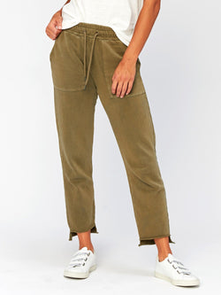 Romilly Step-Hem Jogger Womens Bottoms Pants Threads 4 Thought XS Artichoke