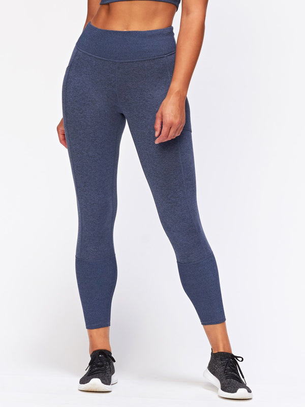 Gretel Legging Womens Bottoms Leggings Threads 4 Thought XS Heather Chambray