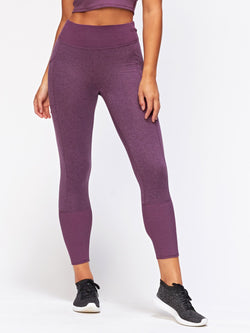 Gretel Legging Womens Bottoms Leggings Threads 4 Thought XS Heather Currant