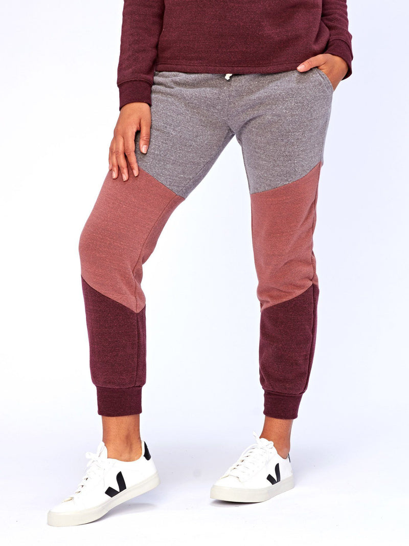 Celina Colorblock Jogger Womens Bottoms Pants Threads 4 Thought