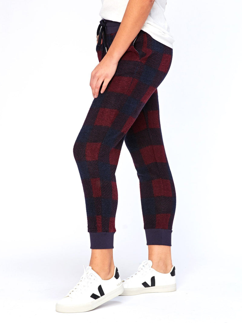 Roam Innsbruck Plaid Print Jogger Womens Bottoms Pants Threads 4 Thought