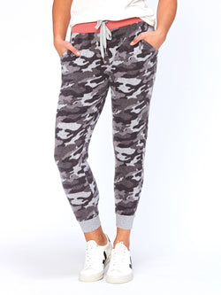 Roam Camo Print Jogger Womens Bottoms Pants Threads 4 Thought