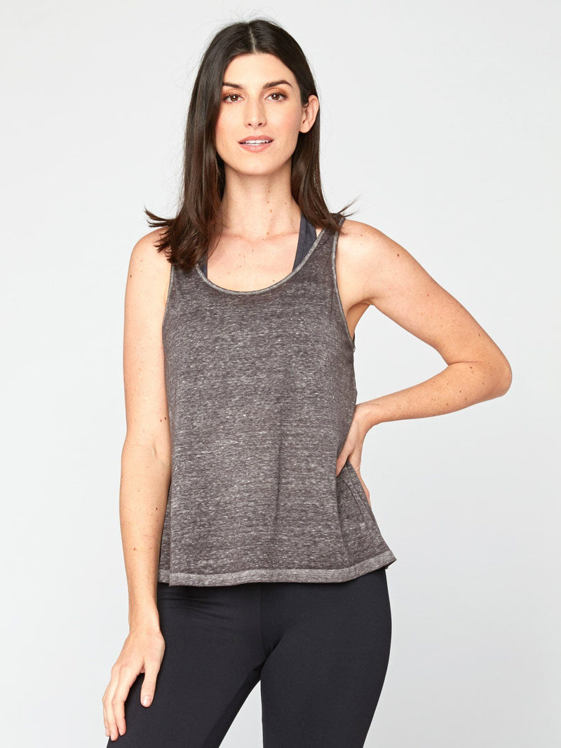 Audley Tank Womens Tops Tank Threads 4 Thought XS Heather Grey