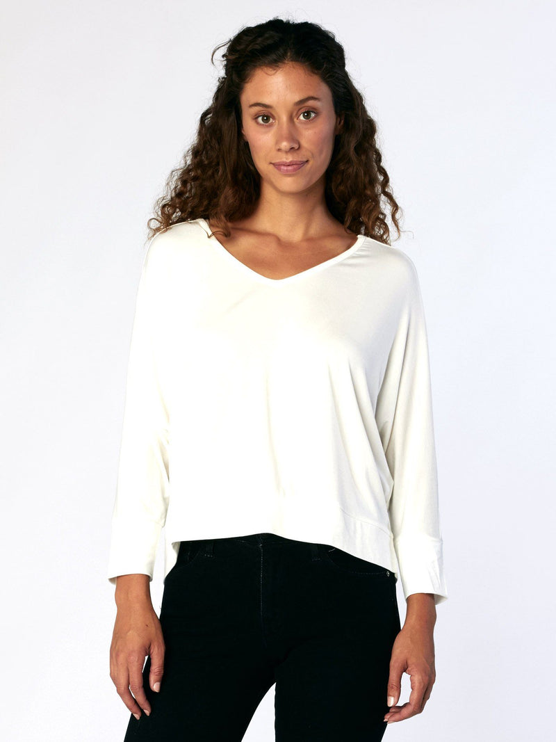 Shelbee Top Womens Tops Threads 4 Thought XS White