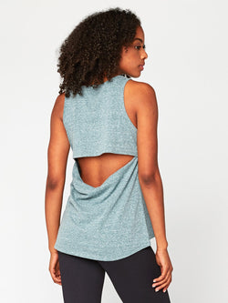 Chloe Drape Back Tank Womens Tops Tank Threads 4 Thought