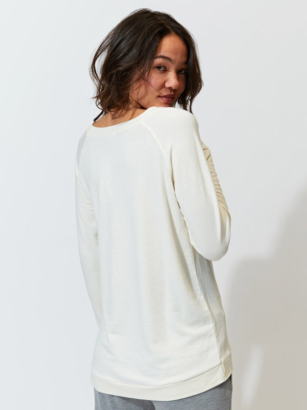 Leanna Feather Fleece Tunic Womens Tops Threads 4 Thought