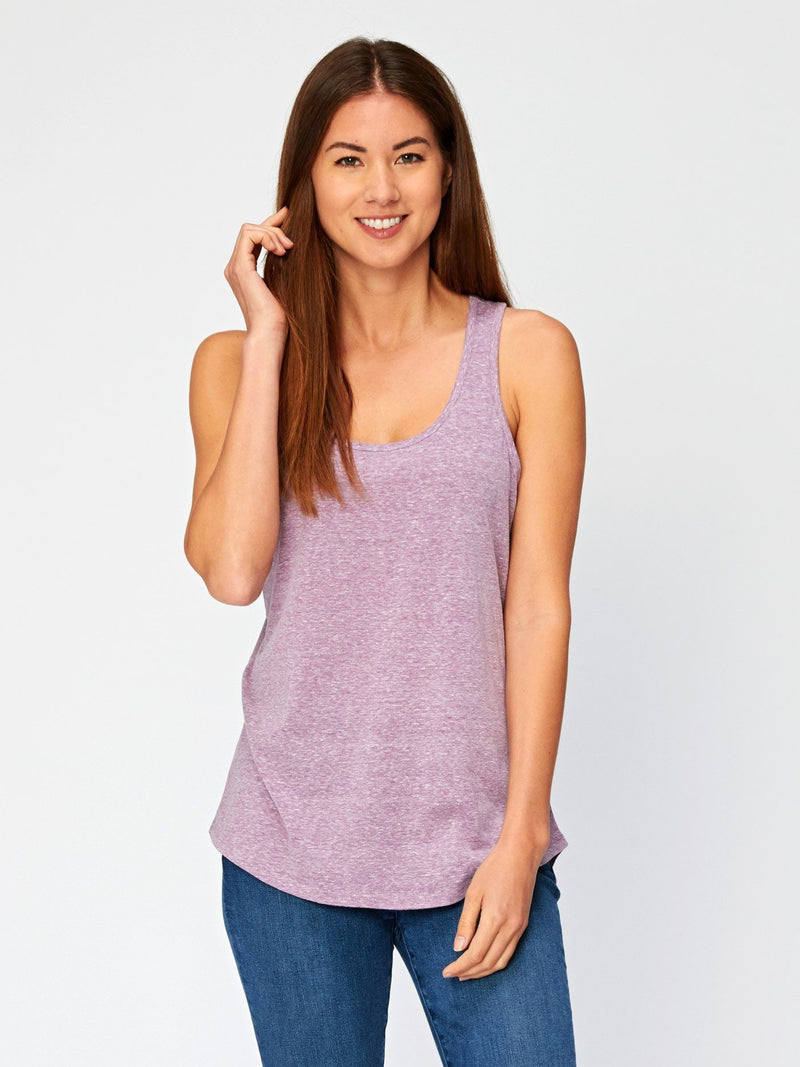 Abbie Triblend Tank Womens Tops Threads 4 Thought XS Lavender