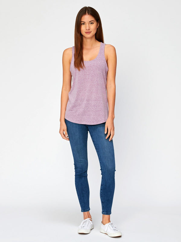 Abbie Triblend Tank Womens Tops Threads 4 Thought
