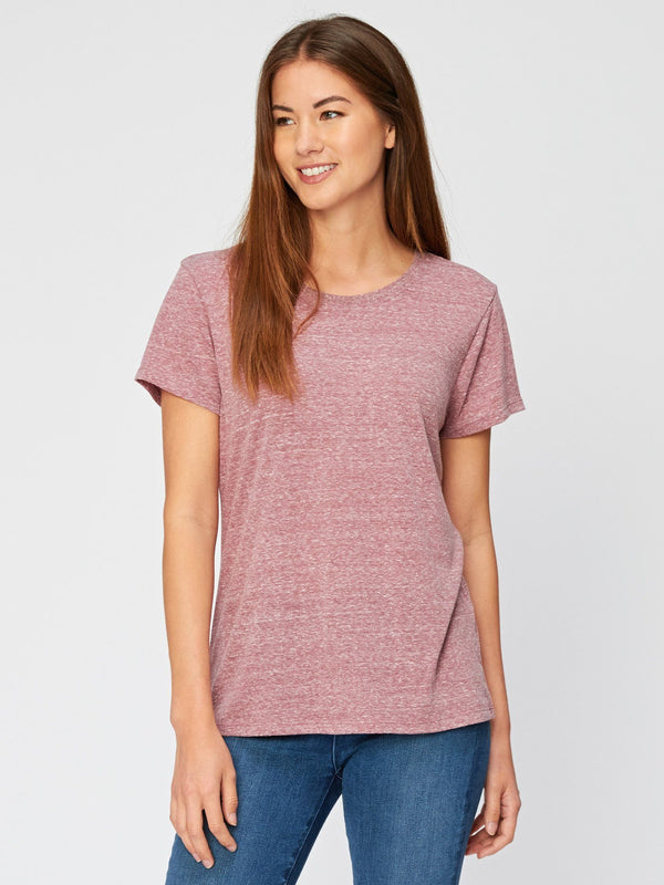Lily Triblend Tee Womens Tops Threads 4 Thought XS Brick Red