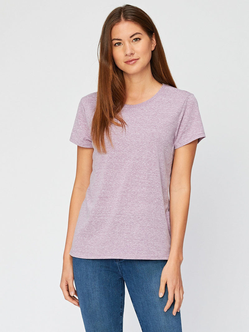 Lily Triblend Tee Womens Tops Threads 4 Thought XS Lavender