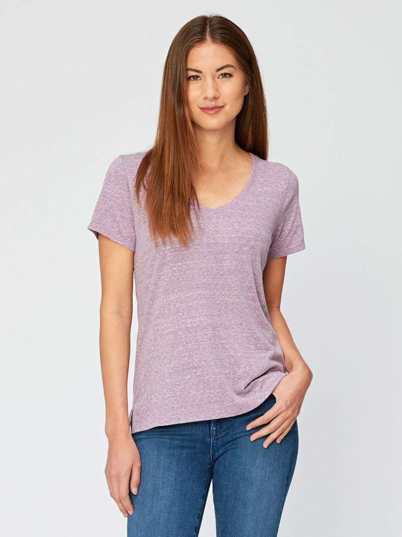 Molly Triblend Tee Womens Tops Threads 4 Thought XS Lavender