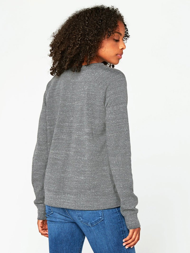 Triblend Raglan Pullover Womens Outerwear Sweatshirt Threads 4 Thought