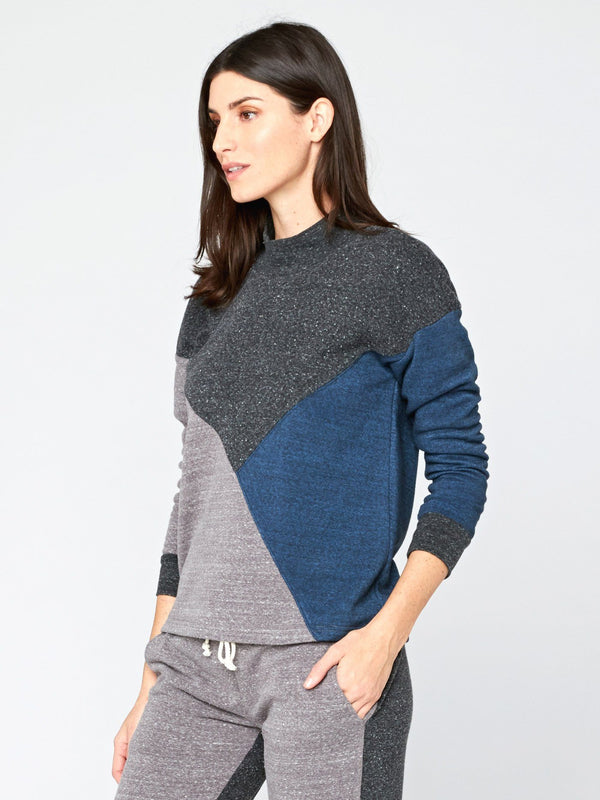 Zadie Colorblock Pullover Womens Outerwear Sweatshirt Threads 4 Thought