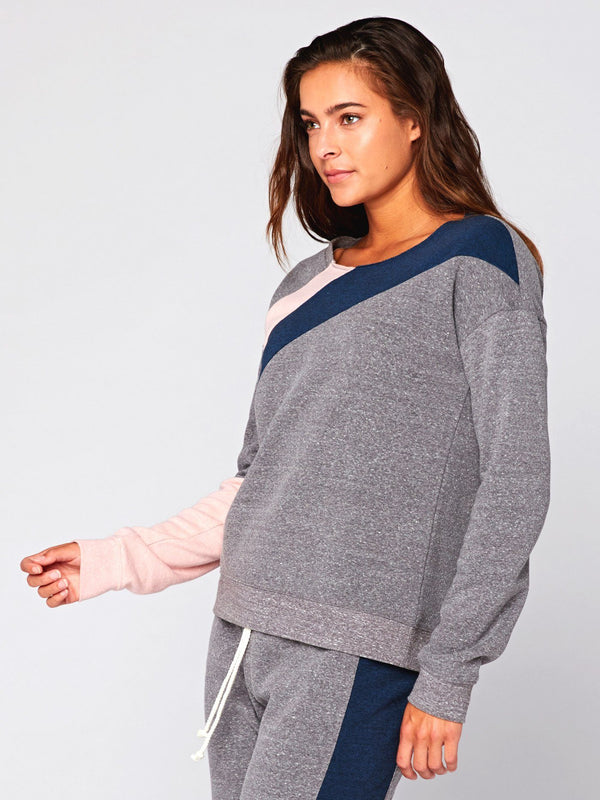 Nysha Colorblock Pullover Womens Outerwear Sweater Threads 4 Thought