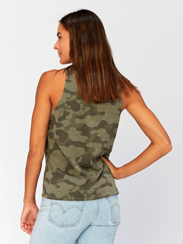 Venus Camo Printed Tank Womens Tops Threads 4 Thought