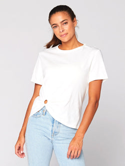 Tillie Knotted Top Womens Tops Threads 4 Thought XS White