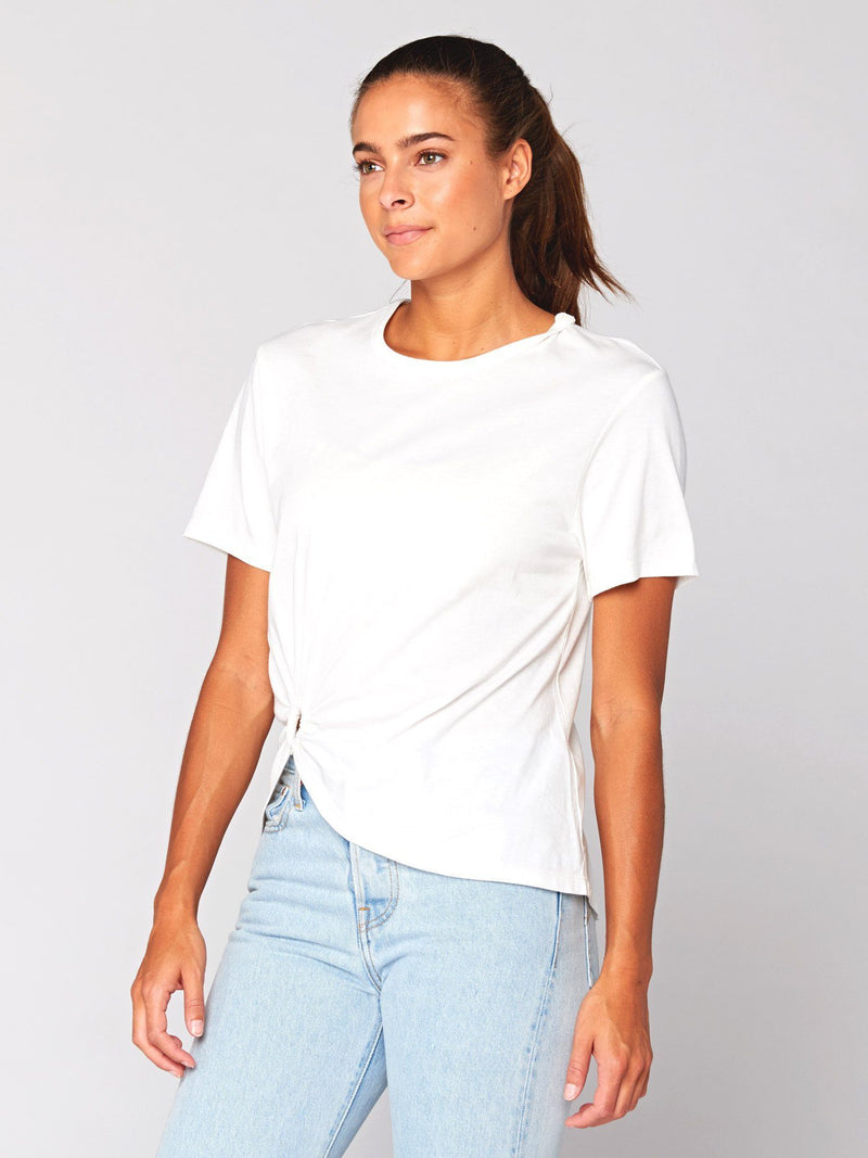 Tillie Knotted Top Womens Tops Threads 4 Thought