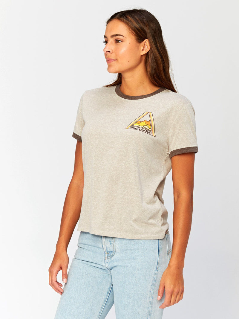 Preserve Our Parks Graphic Tee Womens Tops Threads 4 Thought