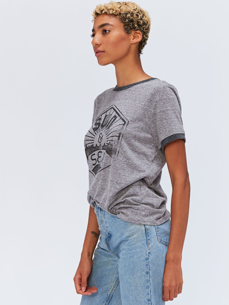 Sun and Sea Graphic Tee Womens Tops Threads 4 Thought
