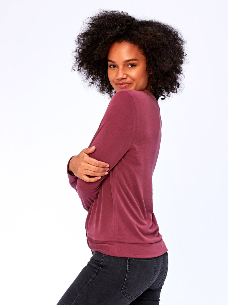 Susie Knot Front Top Womens Tops Threads 4 Thought