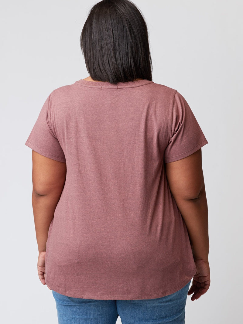 Anissa Triblend Henley Womens Tops Threads 4 Thought