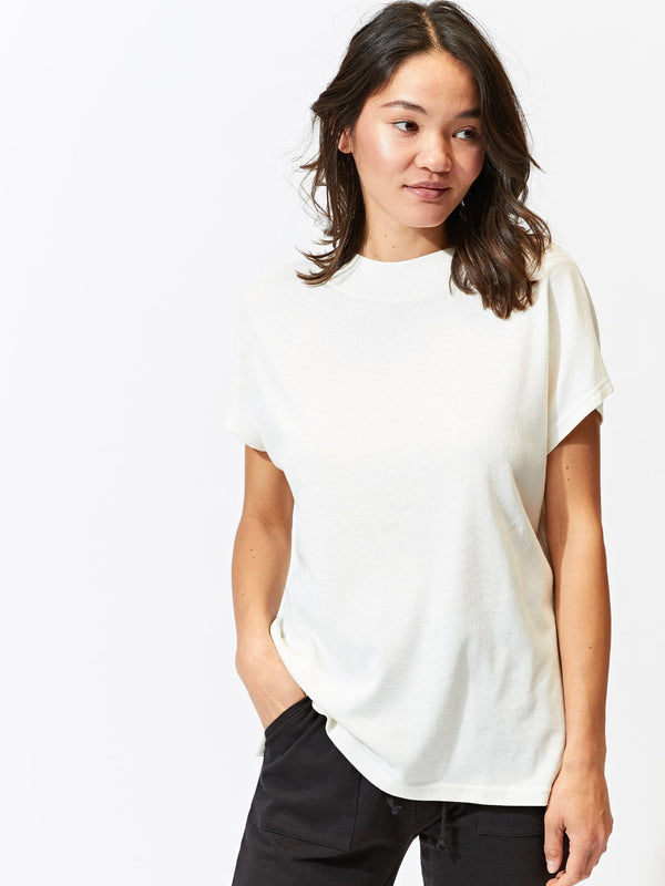 Soren Mock Neck Top Womens Tops Threads 4 Thought
