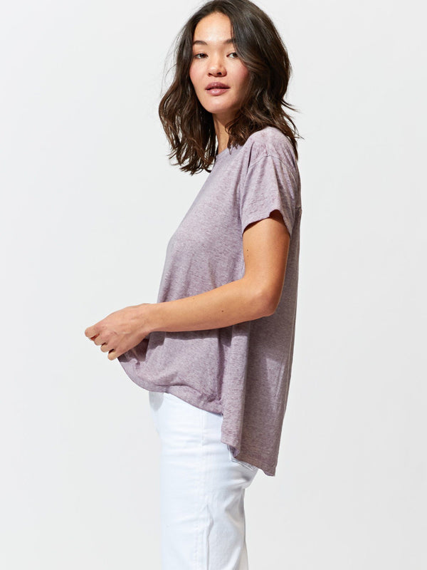 Peggy Burnout Step-Hem Tee Womens Tops Tee Threads 4 Thought