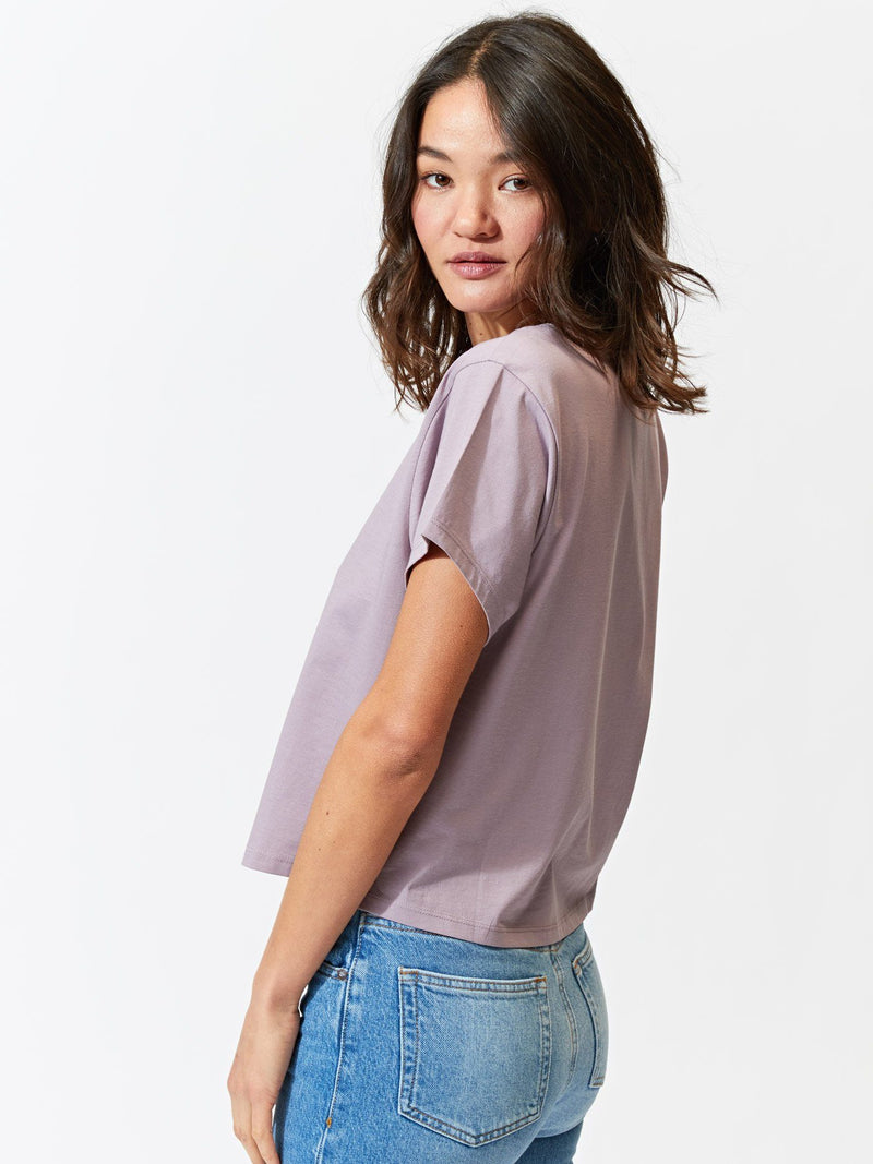 Women's Invincible Cropped Crew Tee Womens Tops Tee Threads 4 Thought