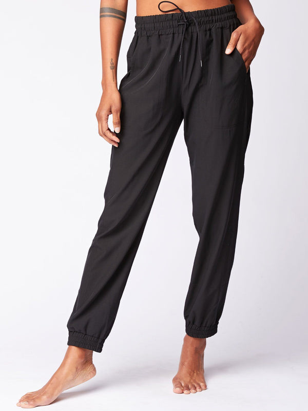 Kiara Woven Jogger Womens Bottoms Pants Threads 4 Thought