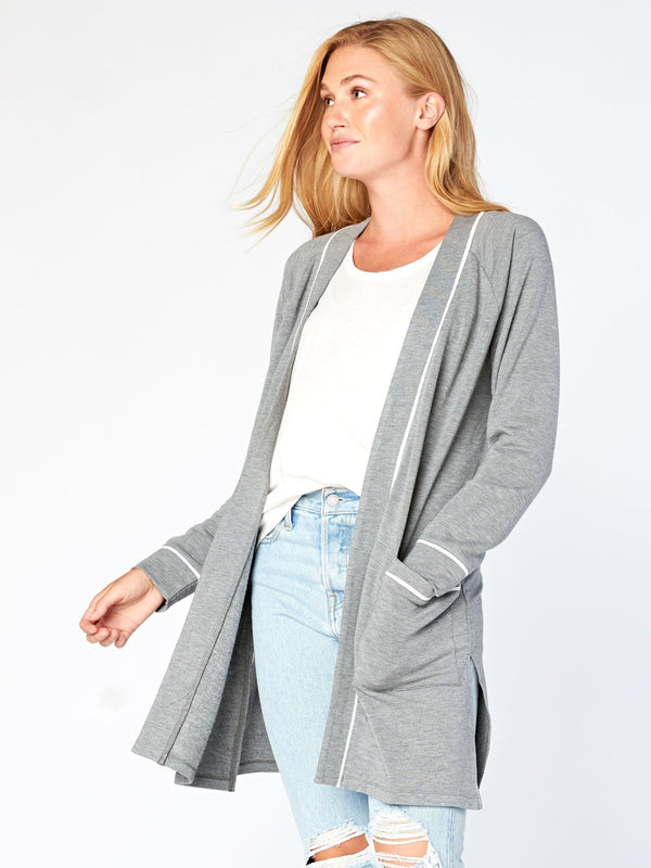 Rosie Cardigan Womens Outerwear Cardigans Threads 4 Thought XS Heather Grey