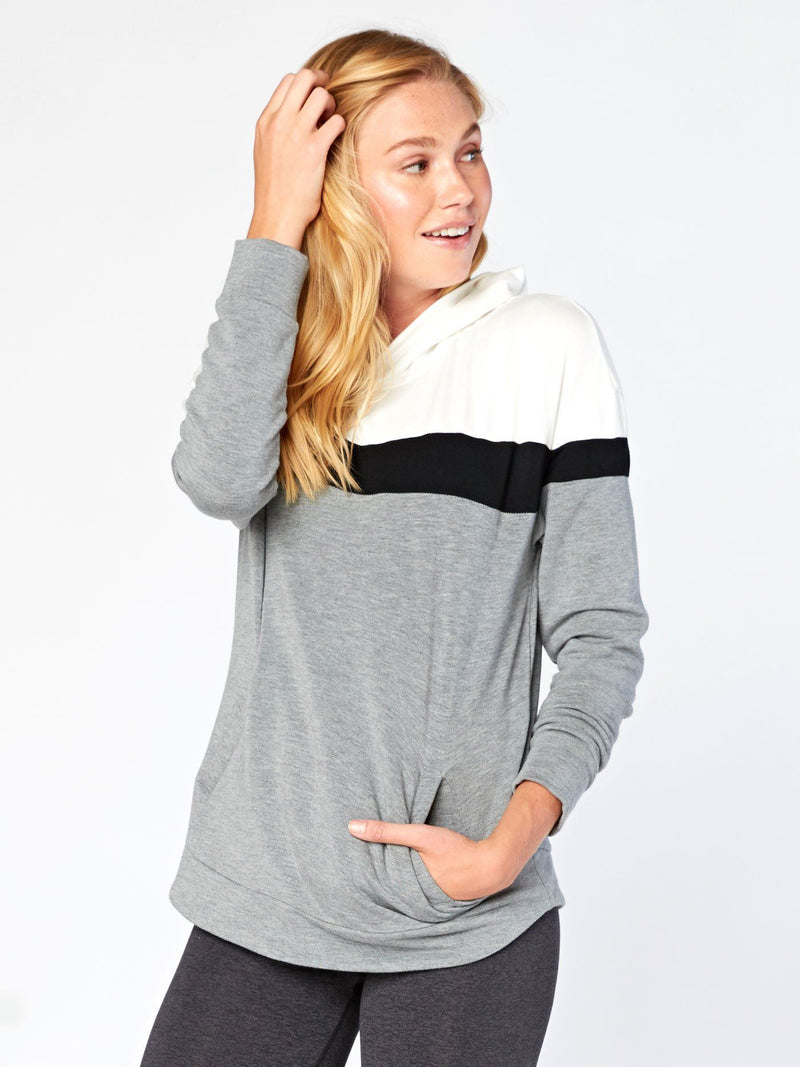 Dylan Hoodie Womens Outerwear Hoodie Threads 4 Thought XS Heather Grey
