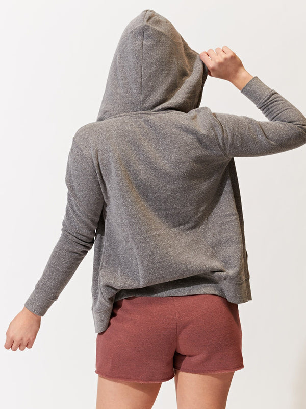 Triblend Zip Hoodie Womens Outerwear Hoodie Threads 4 Thought